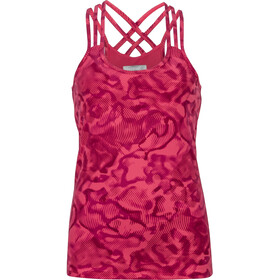 Marmot Vogue Top sin Mangas Mujer, hibiscus ripple